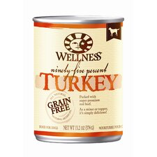 95% Turkey Wet Dog Food (13.2-oz, case of 12)