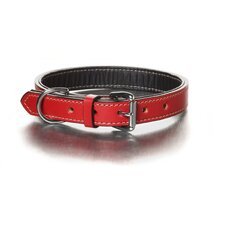 Simply Red Nic Hardware Dog Collar
