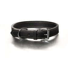 Black Tie Nic Hardware Dog Collar in Black