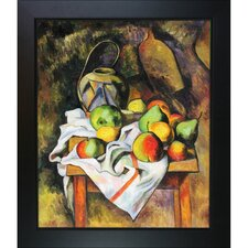 Straw Vase by Paul Cezanne Framed Original Painting