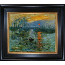 Monet Impression, Sunrise Hand Painted Oil on Canvas Wall Art