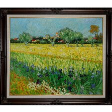 View of Arles by Van Gogh Framed Original Painting