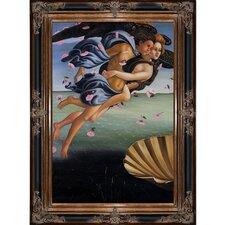 Birth of Venus by Botticelli Framed Original Painting