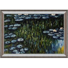 <strong>Tori Home</strong> Monet Nympheas Hand Painted Oil on Canvas Wall Art
