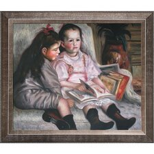 Portrait of Children (The Children of Martial Caillebotte) Renoir Framed Original Painting