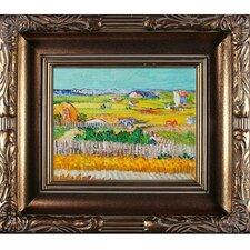 The Harvest Van Gogh Framed Original Painting