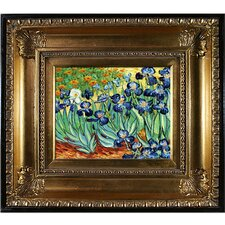 Irises Van Gogh Framed Original Painting