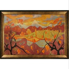 Vines Ranson Framed Original Painting