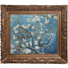 Branches of an Almond Tree in Blossom Van Gogh Framed Original Painting