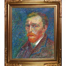 Self Portrait Van Gogh Framed Original Painting
