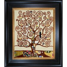 Tree of Life by Klimt Framed Hand Painted Oil on Canvas