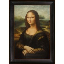 Mona Lisa by Leonardo Da Vinci Framed Hand Painted Oil on Canvas