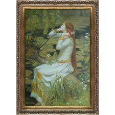 Ophelia by John William Waterhouse Framed Hand Painted Oil on Canvas