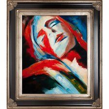 Deepest Fullness by Wierzbicki Framed Hand Painted Oil on Canvas