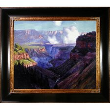 Looking Across the Grand Canyon by Potthast Framed Hand Painted Oil on Canvas