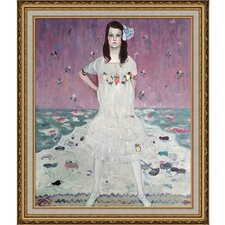 Portrait of Mada Primavesi by Klimt Framed Hand Painted Oil on Canvas