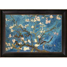Branches Of An Almond Tree In Blossom Hand by Van Gogh Painted Oil on Canvas