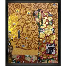 Fulfillment (Luxury Line) by Klimt Framed Hand Painted Oil on Canvas