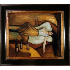 The Day After by Munch Framed Hand Painted Oil on Canvas