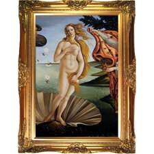 Birth of Venus (center panel) Botticelli Framed Original Painting