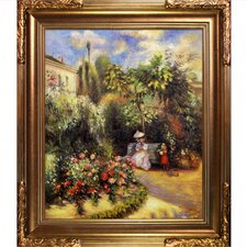 The Garden at Pontoise Pissarro Framed Original Painting