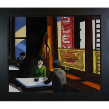 Hopper Chop Suey Canvas Art