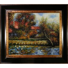 Renoir Duck Pond Canvas Art