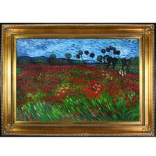 Van Gogh Field of Poppies Canvas Art