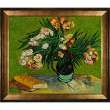 Van Gogh Majolica Jar with Branches of Oleander, 1888 Canvas Art