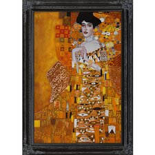 Klimt Portrait of Adele Bloch-Bauer 1, 1907 Canvas Art