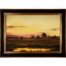 Heade Sunset Rhode Island Canvas Art