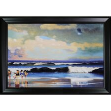Homer On the Beach Canvas Art