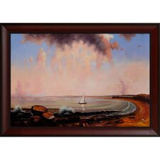 Heade Shore Scene Point Judith Canvas Art