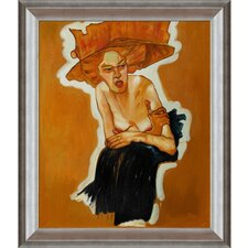 Schiele Scornful Woman Canvas Art