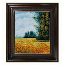 Monet Champ d'avoine (Oat Fields) Canvas Art