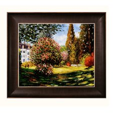 Monet Il Parco Monceau Canvas Art