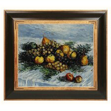 Monet Pears and Grapes Canvas Art