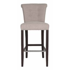 "<strong>Orient Express Furniture</strong> Regency 30"" Bar Stool with Cushion"
