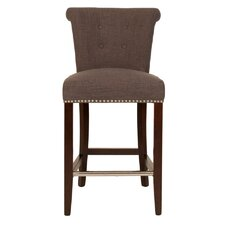 <strong>Orient Express Furniture</strong> Villa Bar Stool with Cushion