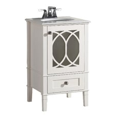 "Paige 21"" Single Bathroom Vanity Set"