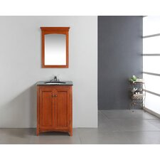 "Yorkville 24"" Single Bathroom Vanity Set with Mirror"