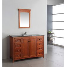 "<strong>Simpli Home</strong> Yorkville 48"" Bathroom Vanity Set"