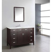 "Urban Loft 49"" Single Bathroom Vanity Set with Mirror"