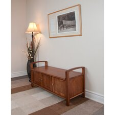 Warm Shaker Entryway Bench