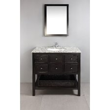 "<strong>Simpli Home</strong> Burnaby 36"" Single Bathroom Vanity Set"