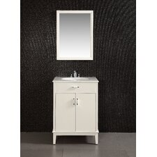 "<strong>Simpli Home</strong> Urban Loft 24"" Single Bathroom Vanity Set"