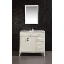 "Urban Loft Single 36"" Bathroom Vanity Set"