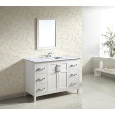 "<strong>Simpli Home</strong> Winston Single 48"" Bathroom Vanity Set"