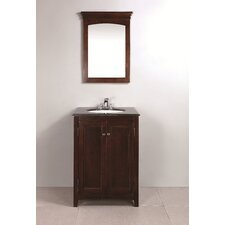 "<strong>Simpli Home</strong> Yorkville 24"" Single Bathroom Vanity Set"