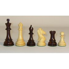 Rosewood Chevalier Chessmen